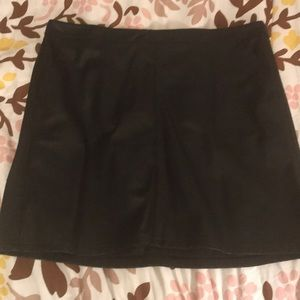 Loft faux leather shift skirt - size 16
